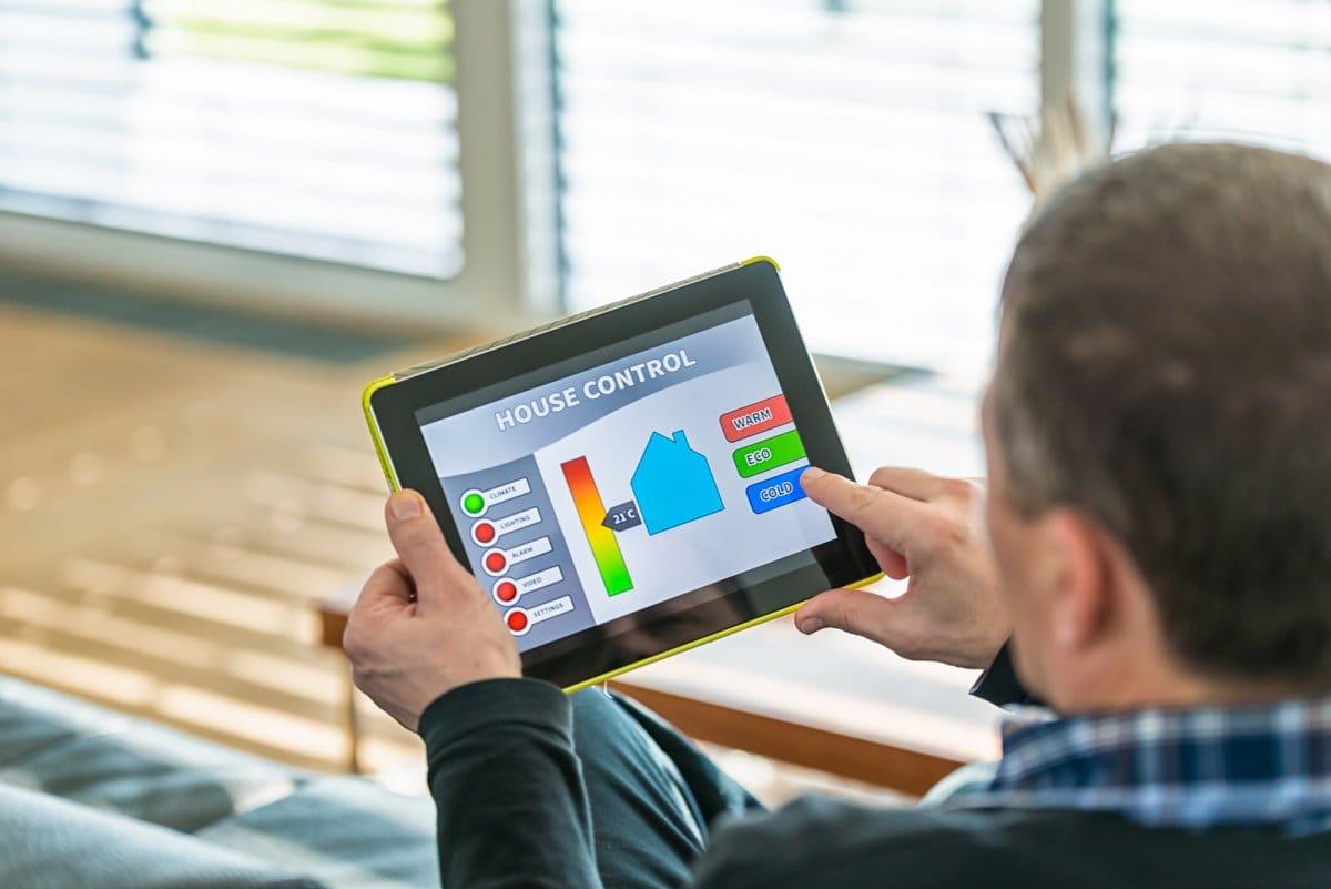 smart house tablet